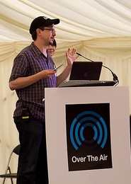 Dan Introducing OTA 2012 Keynote Speaker Ariel Waldman